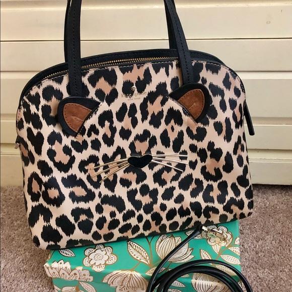 kate spade Handbags - Kate Spade Run Wild Leopard Bag *NEW*